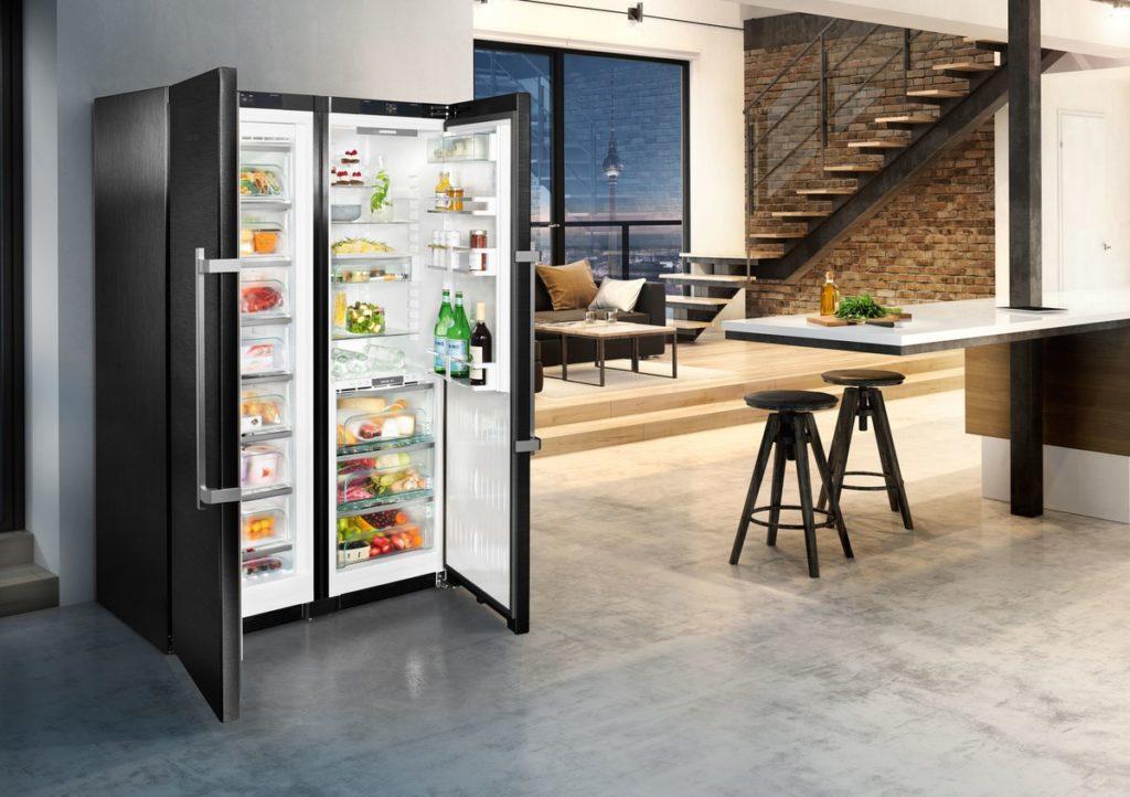 Kühlschrank Und Gefrierschrank Side By Side : Side by side kühlschränke: was ist das und für wen sind sie geeignet